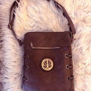 Like NEW Cross-body Shoulder Handbag with accents